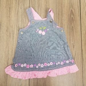 Small Wonders denim dress 3/6 mo